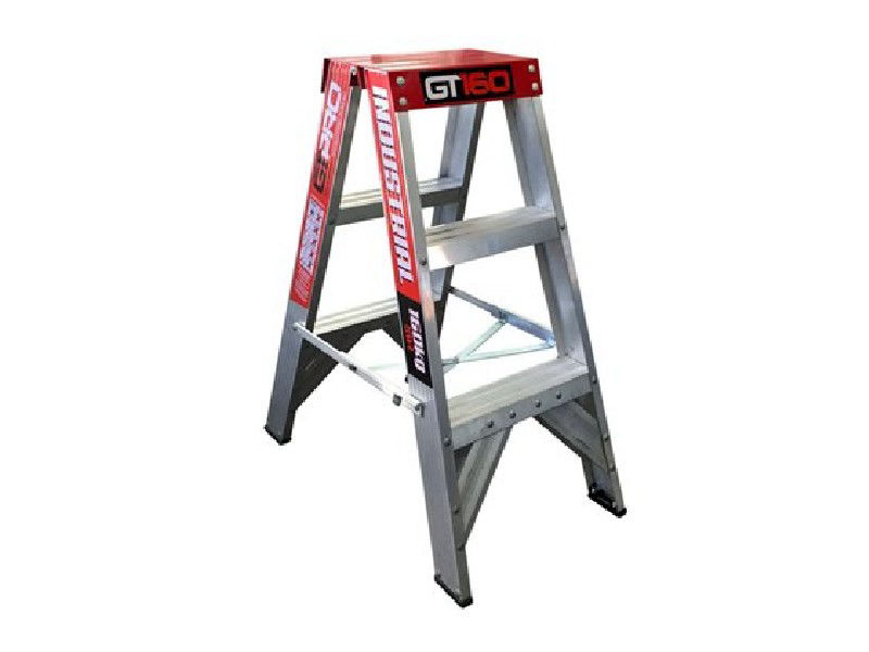 Industrial 3 Double Sided Step Ladder