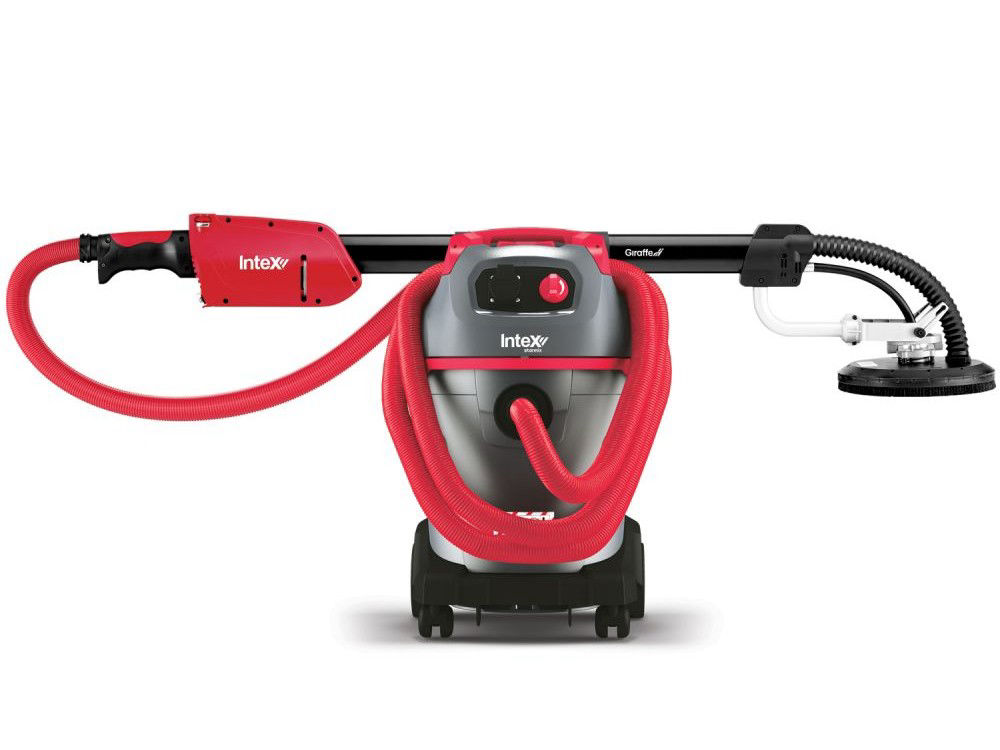 INTEX  Giraffe® Sander & Intex Starmix® Dust Extractor Base Combo